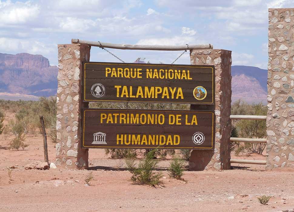 Talampaya national park