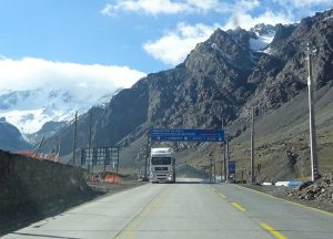 Crossing the Andes Mendoza - Santiago de Chile