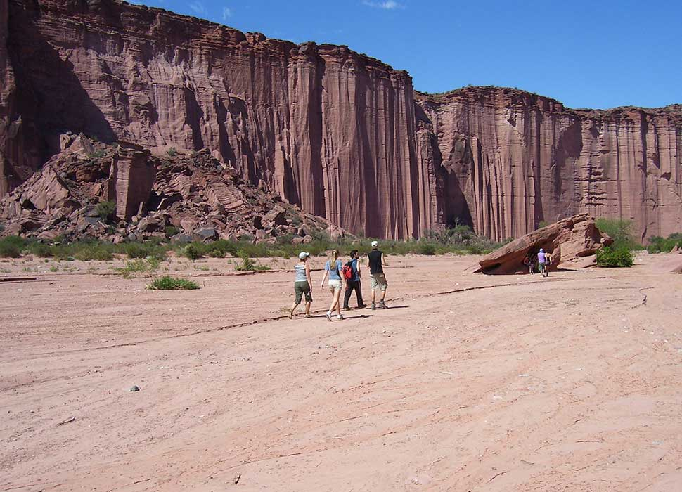 Talampaya canyon