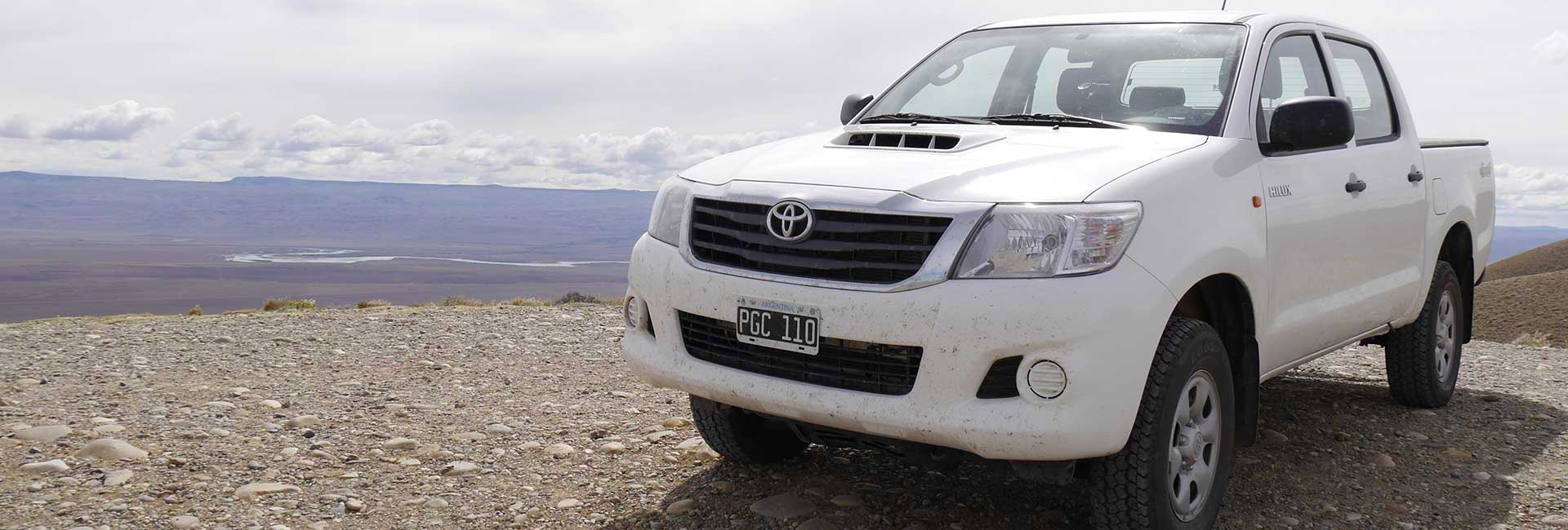 Hilux in Patagonia